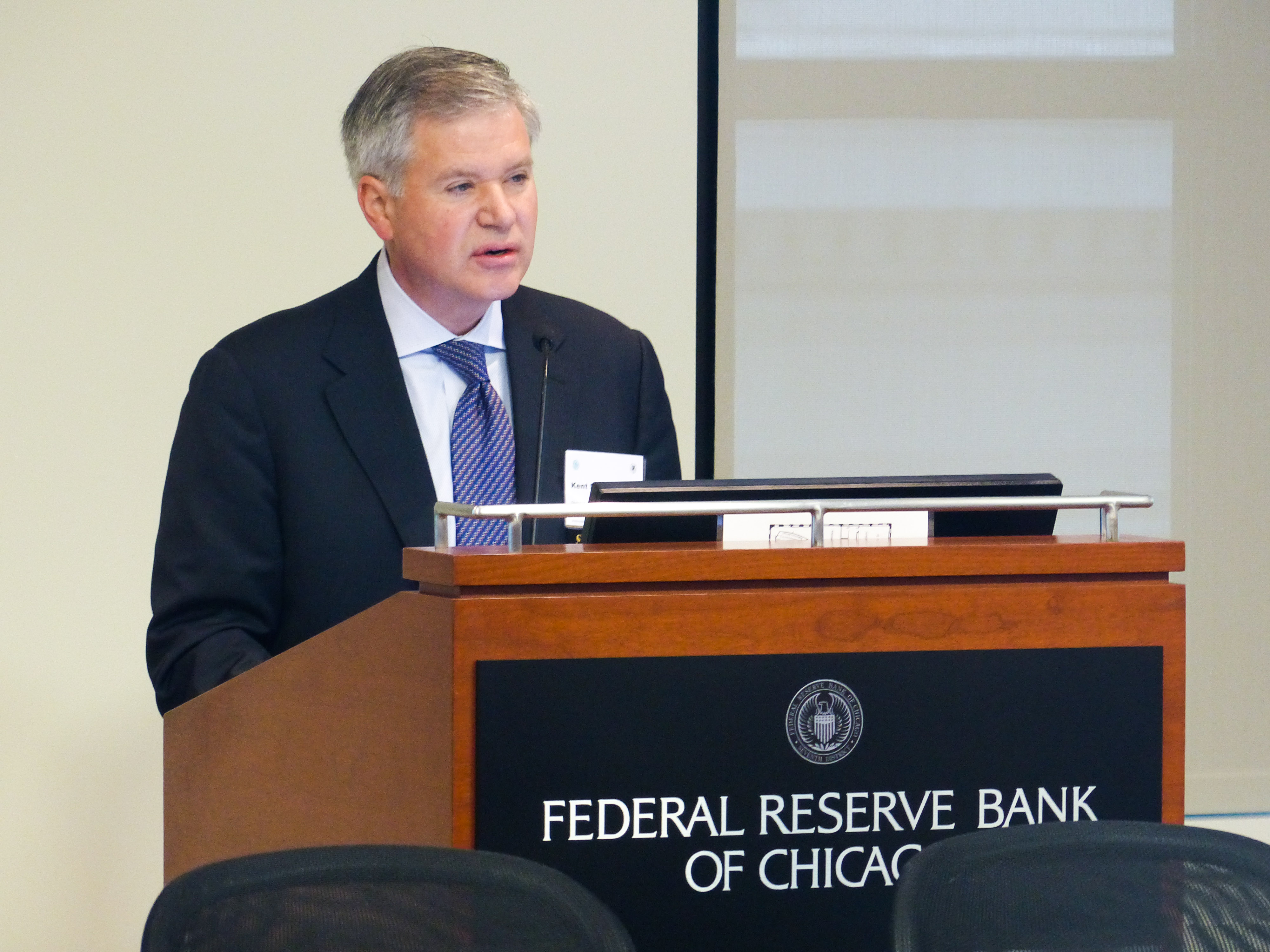 Kent Swanson, Federal Reserve Bank of Chicago, Civic Federation
