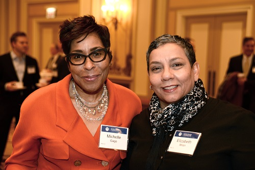 Michelle Gage, Elizabeth Milan, Motorola Solutions Luncheon, Civic Federation
