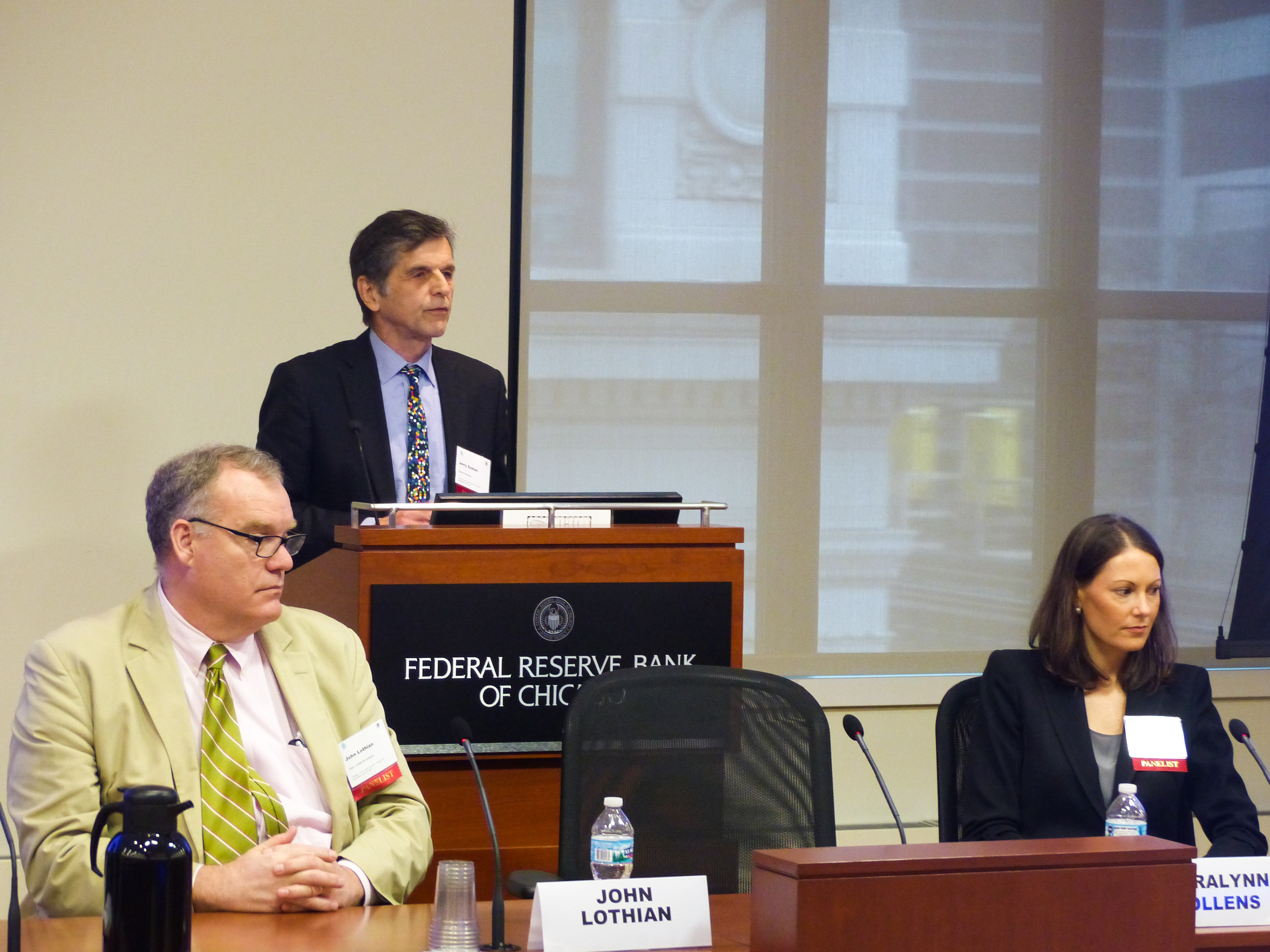 Jerry Szatan, Federal Reserve Bank of Chicago, Civic Federation